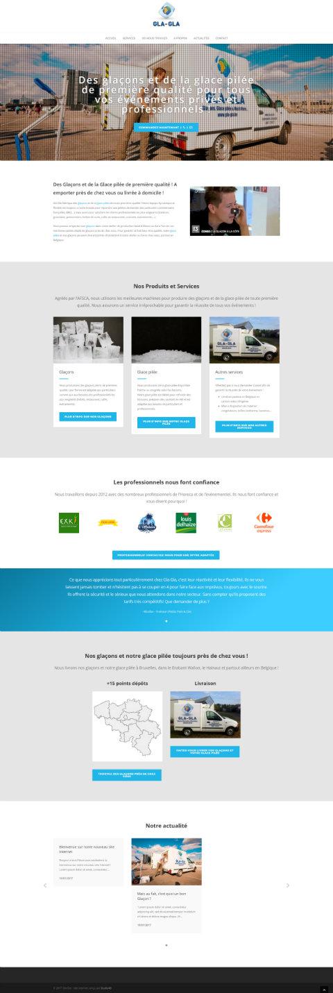 Site internet nouveau design